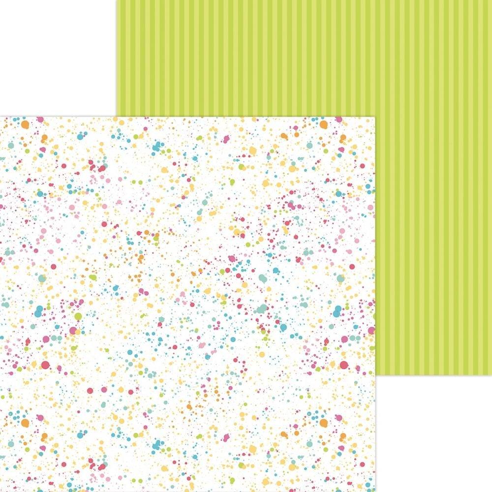 Doodlebug Cute & Crafty - Colorful Canvas