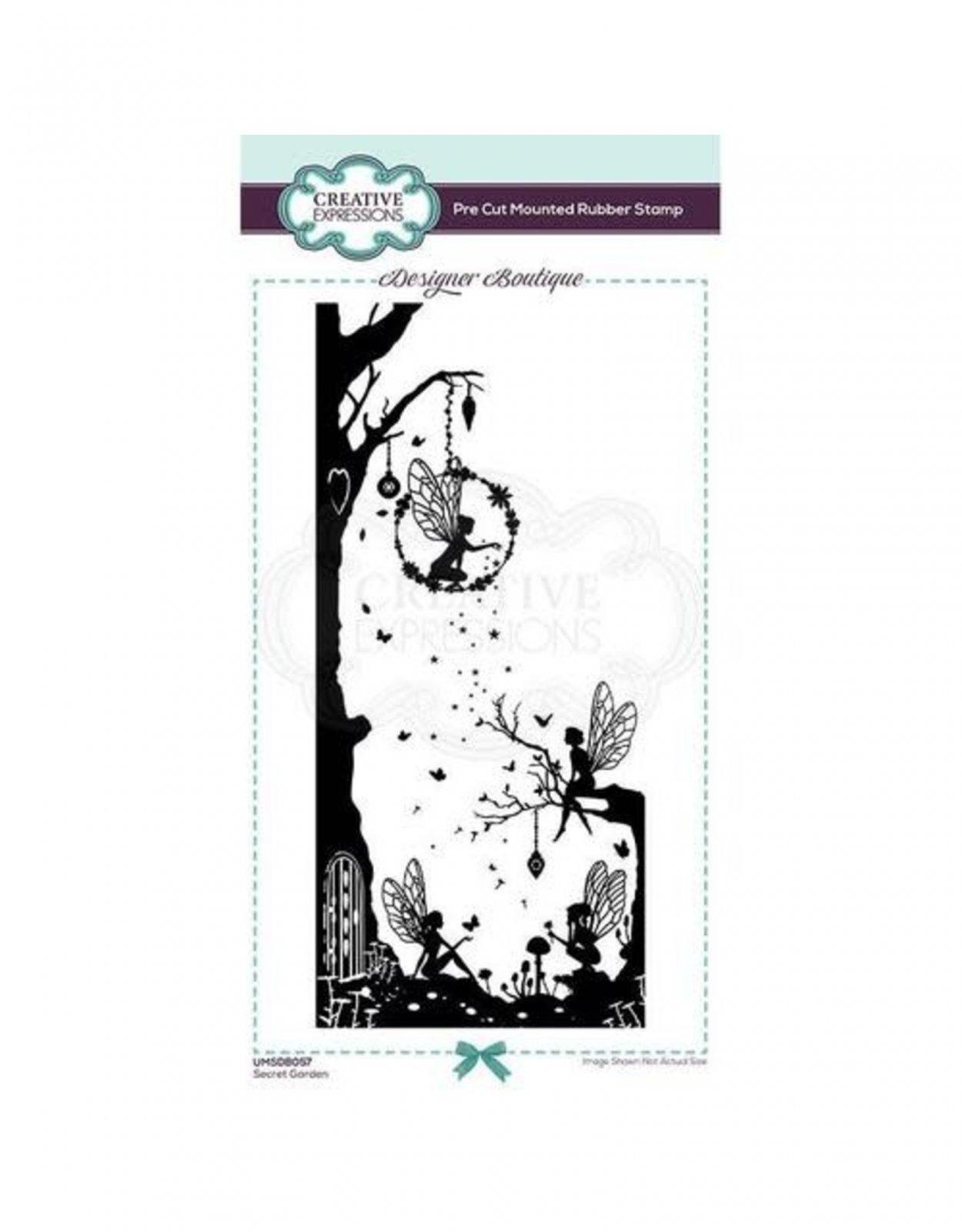 COU Designer Boutique - Secret Garden stamp