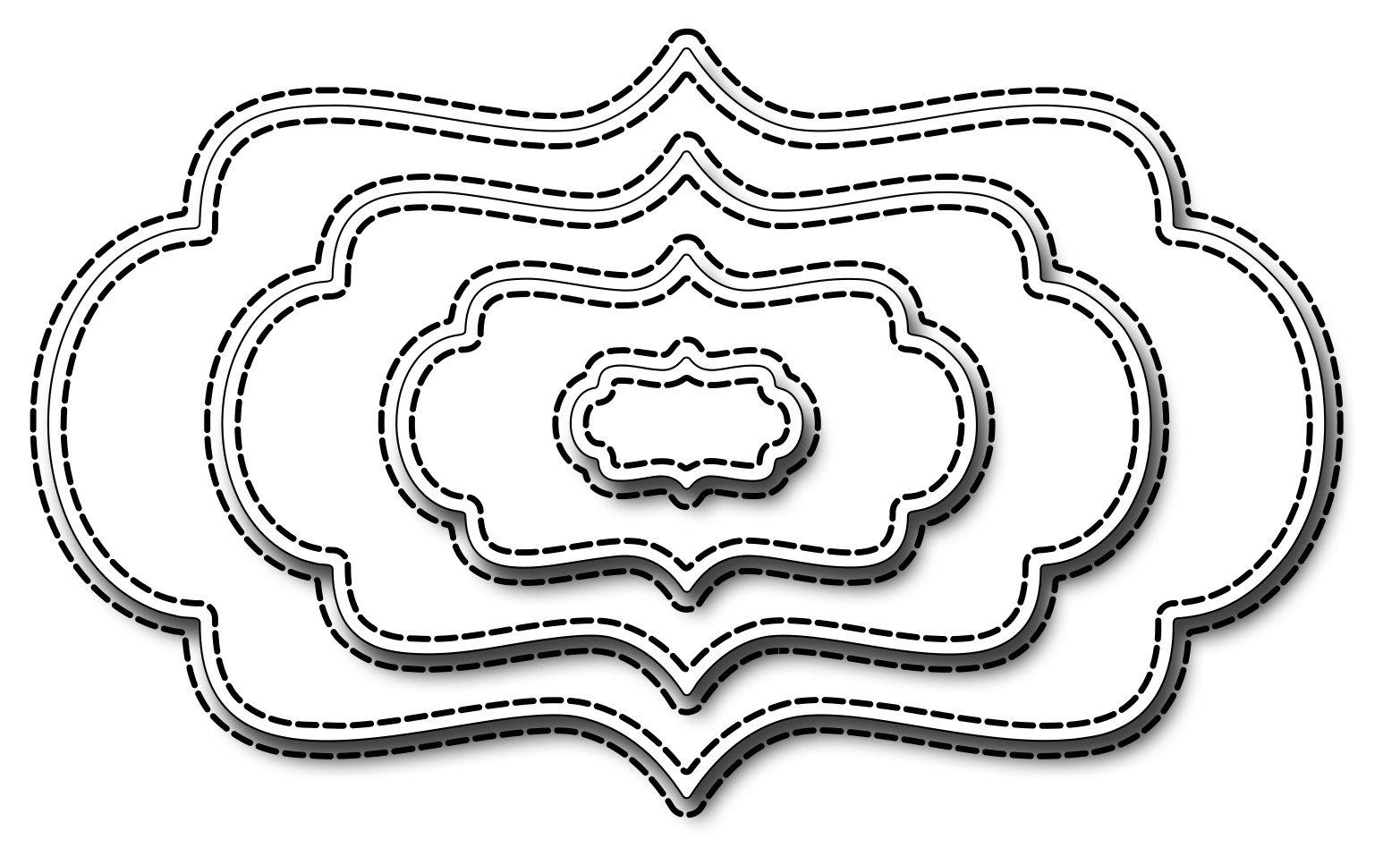 Nested Stitched Bracket Labels