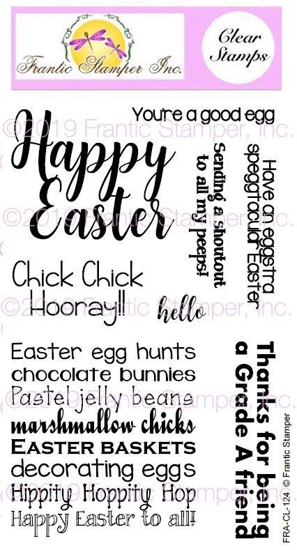 Frantic Stamper Happy Easter Good Egg