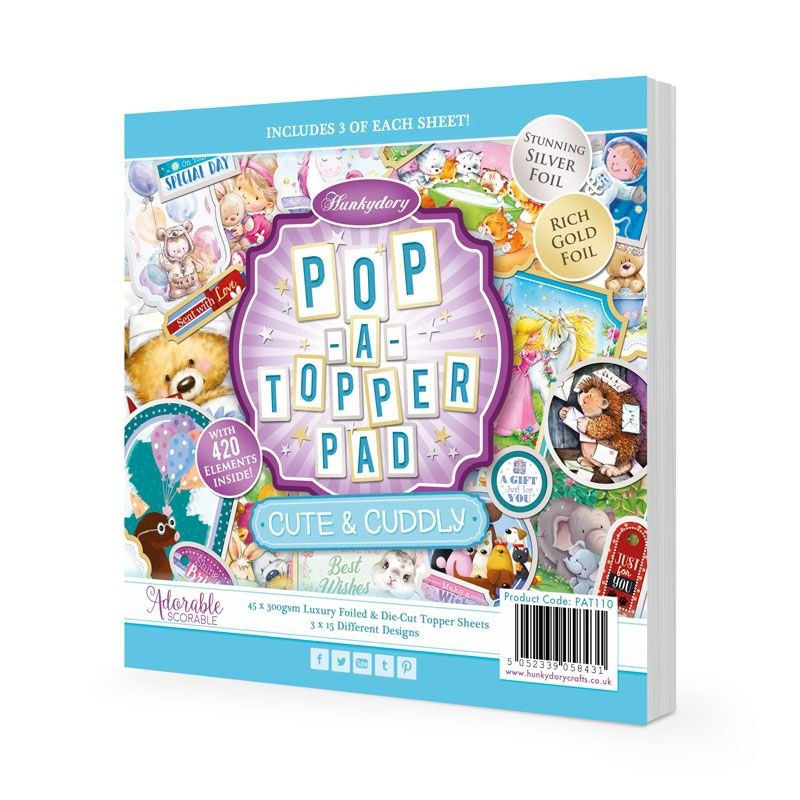 HNK Pop-A-Topper - Cute and Cuddly