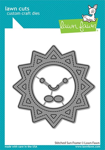 Lawn Fawn Die -Stitched Sun Frame