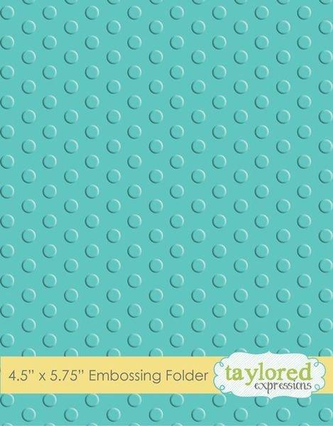 Embossing Folder Lots of Dots