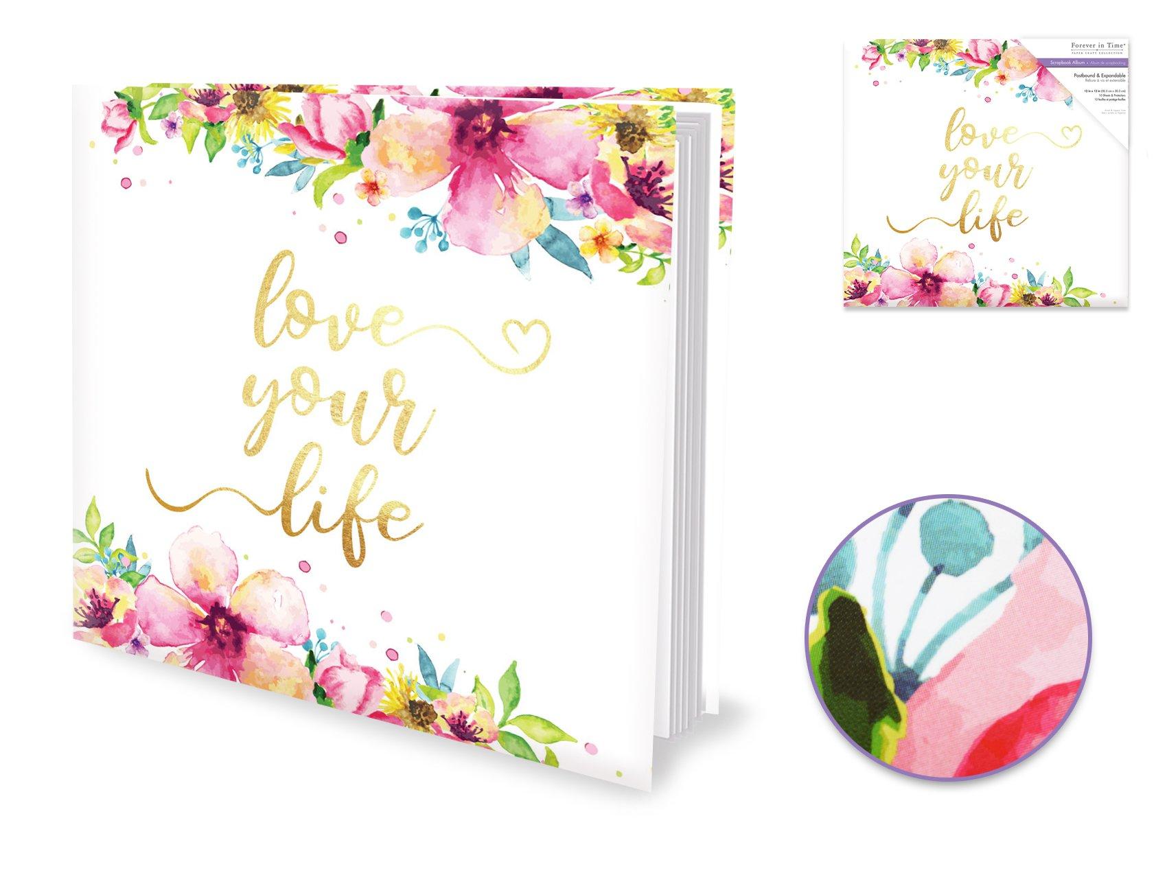 Love Your Life Postbound Album 12x12