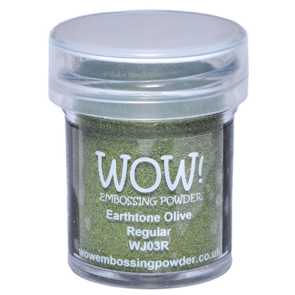 WOW Embossing Powder - Earthtone Olive Regular