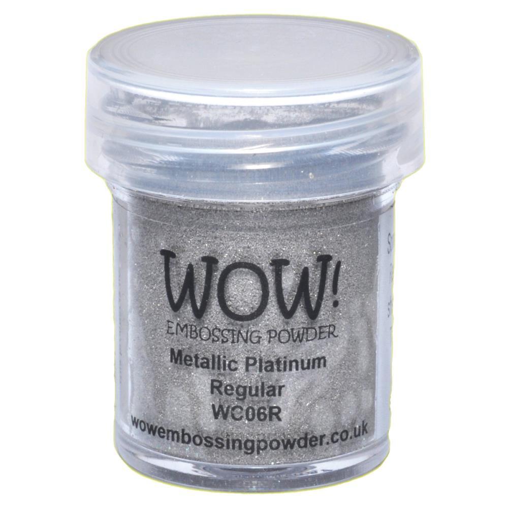 WOW Embossing Powder - Metallic Platinum Regular