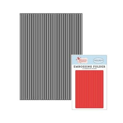 Embossing Folder Perfect Stripe