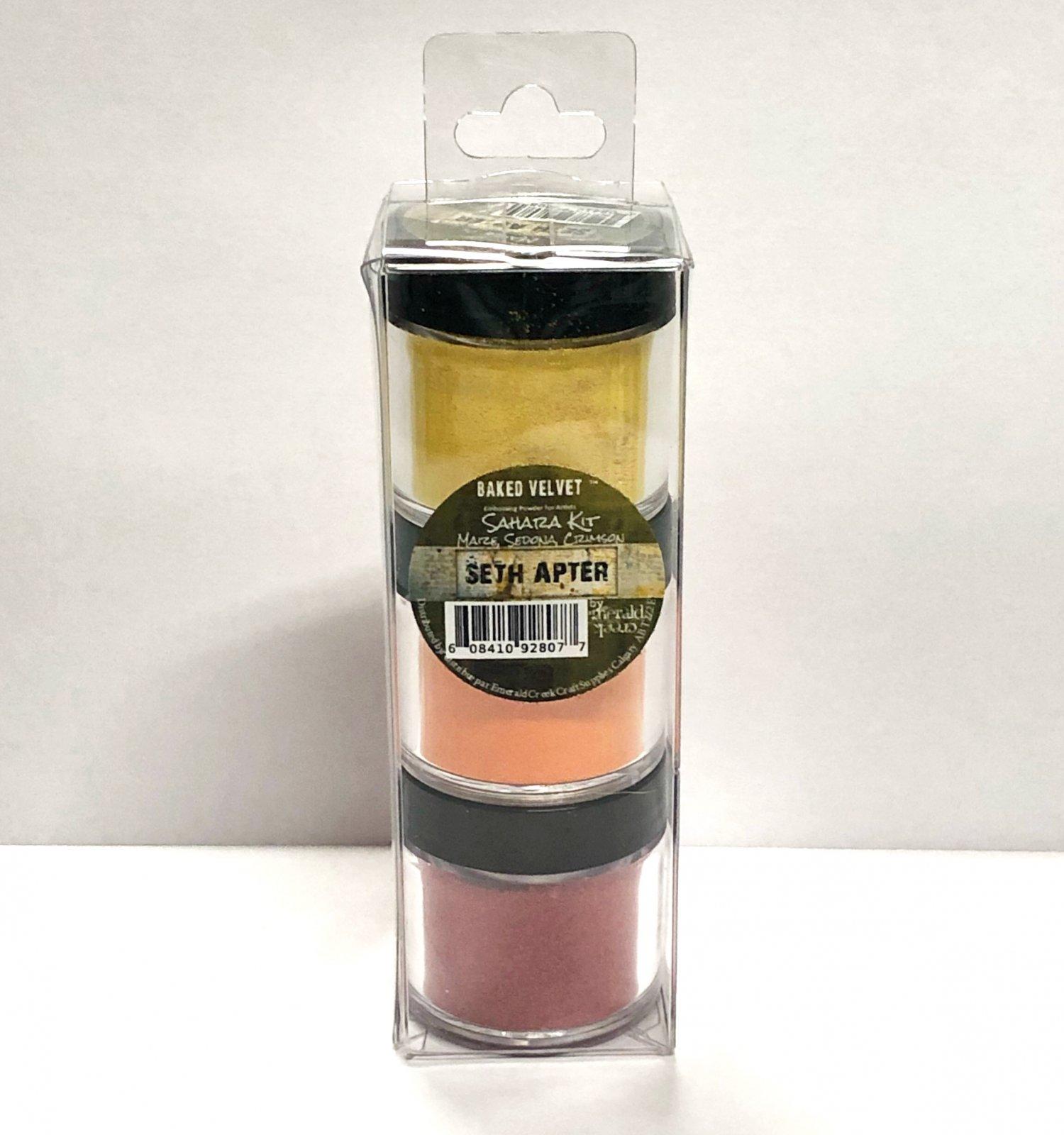 Seth Apter Baked Velvet Sahara Kit Embossing Powder