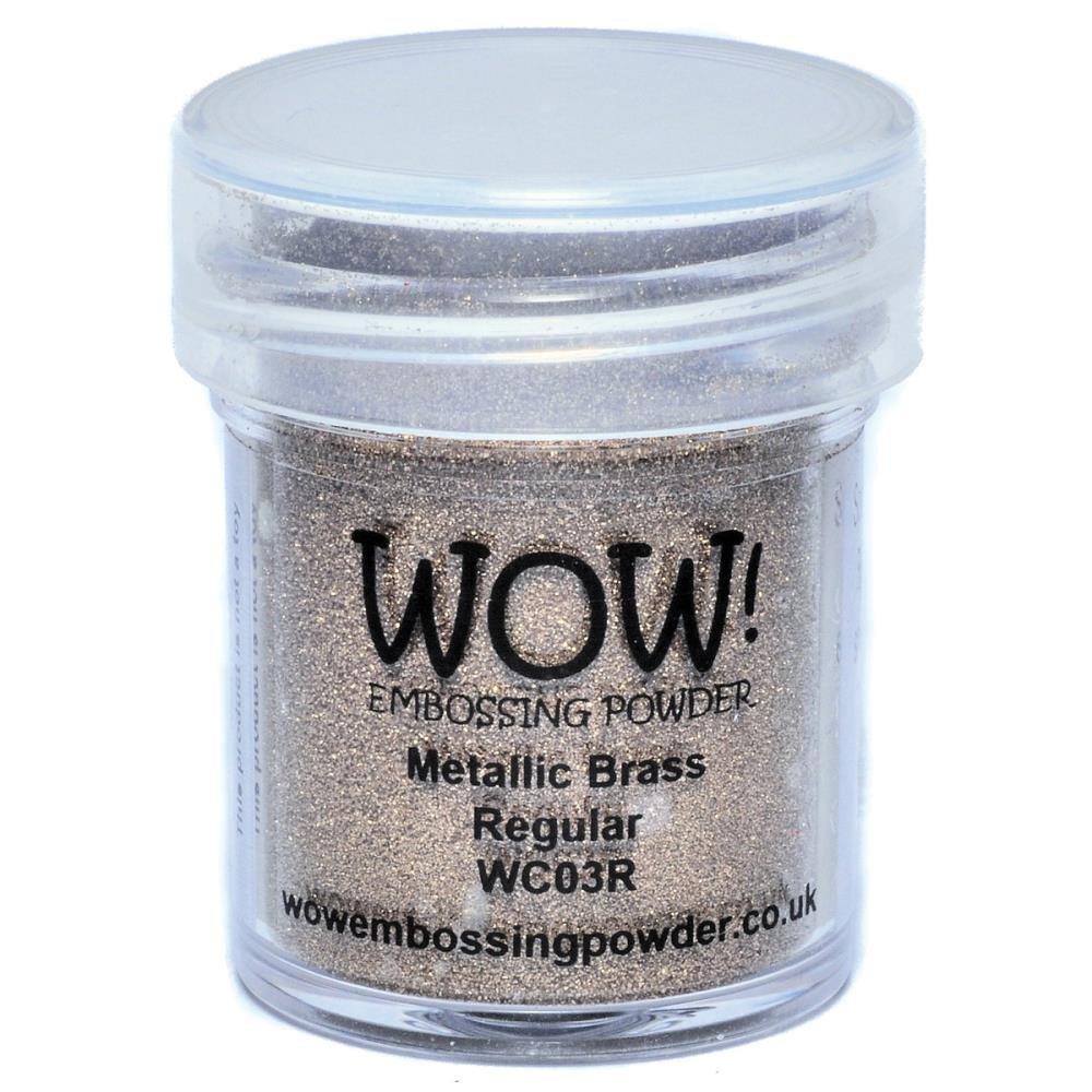 WOW Embossing Powder - Metallic Silver Regular