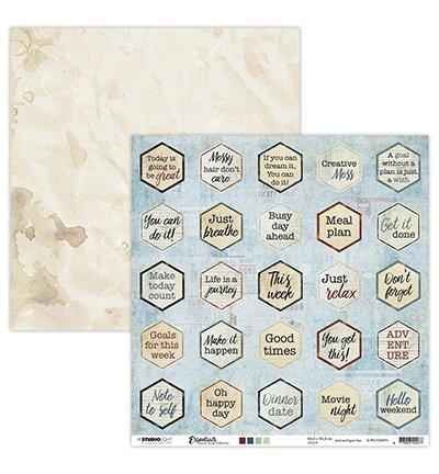 SL Essentials - Planner - Scrap Text Labels