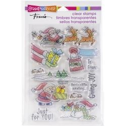 Stampendous Clear stamps - Christmas Gift