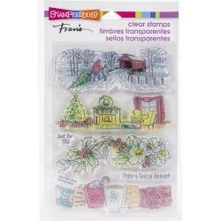 Stampendous Clear Stamps - Holiday Gift