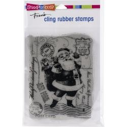 Stampendous Cling Stamps - Santa Post