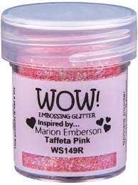 WOW Embossing Powder - Tafeta Pink Regular