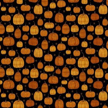 Black Rustic Pumpkin