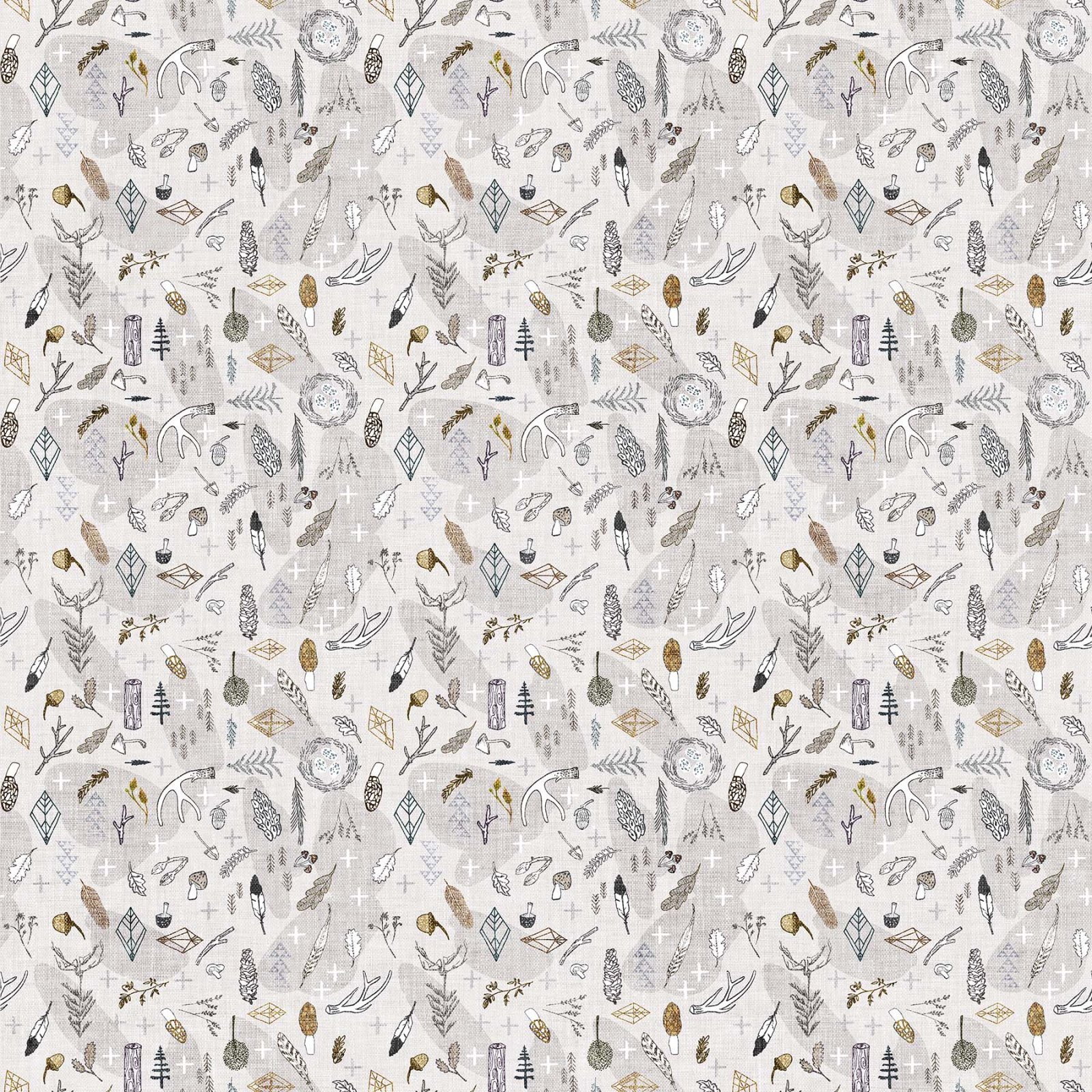 FOREST FABLE TAUPE MULTI Branches