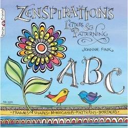 Zenspirations Letters & Patterns Book