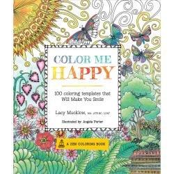 Color Me Happy Zen Colouring Book