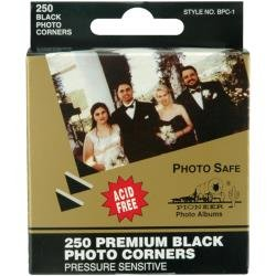 Photo Corners Black