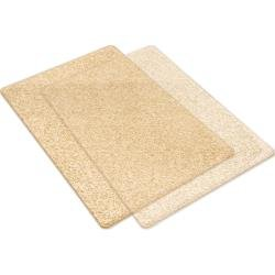 Big Shot Cutting Pads Standard 1 Pair Clear WIth Gold Glitter