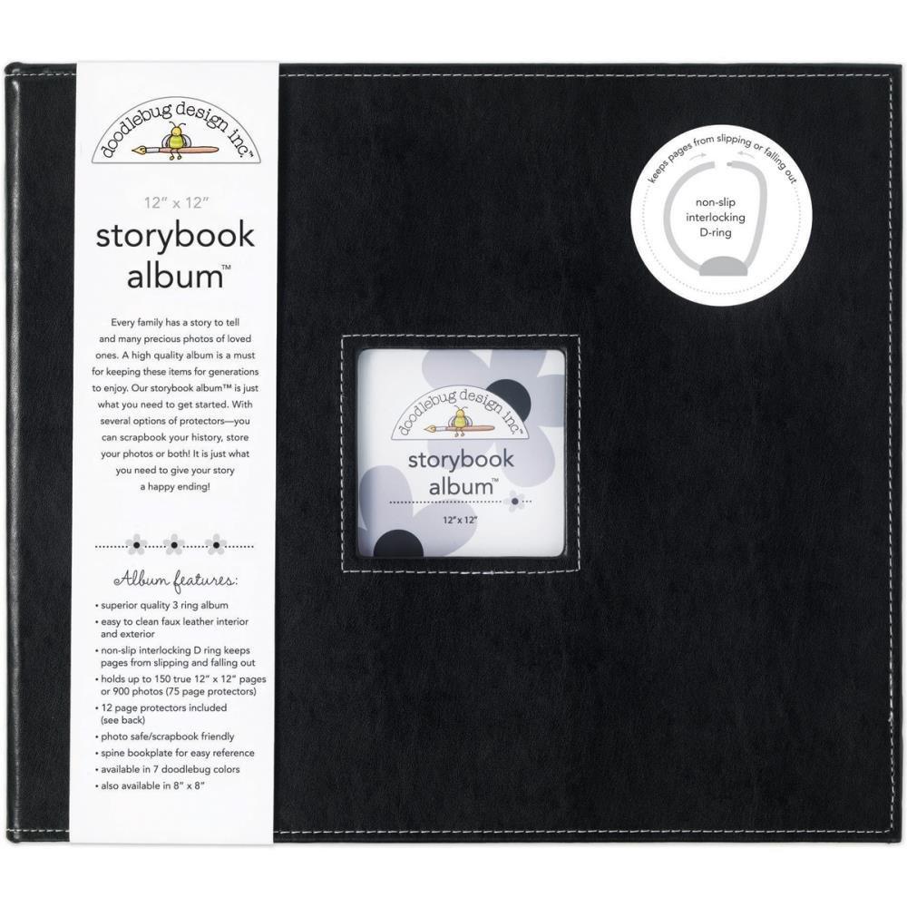 Storybook D-Ring Album Beetle Black