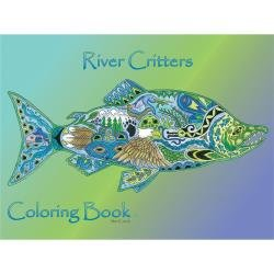 Colouring Book River Critters