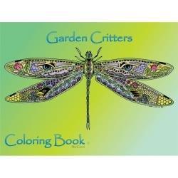 Colouring Book Garden Critters