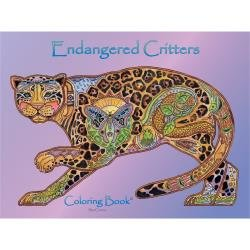 Colouring Book Endangered Critters