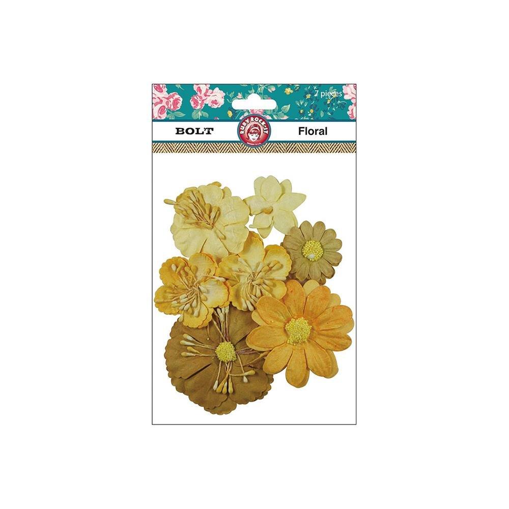 Bolt Paper Florals 7/Pkg