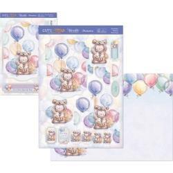 Bear-Thday Balloons Topper