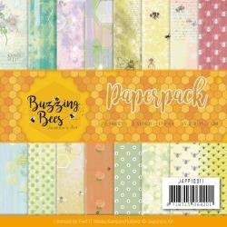 Buzzing Bees Paper Pad 6 X 6