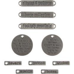 Idea-Ology Metal Adornments Halloween Words