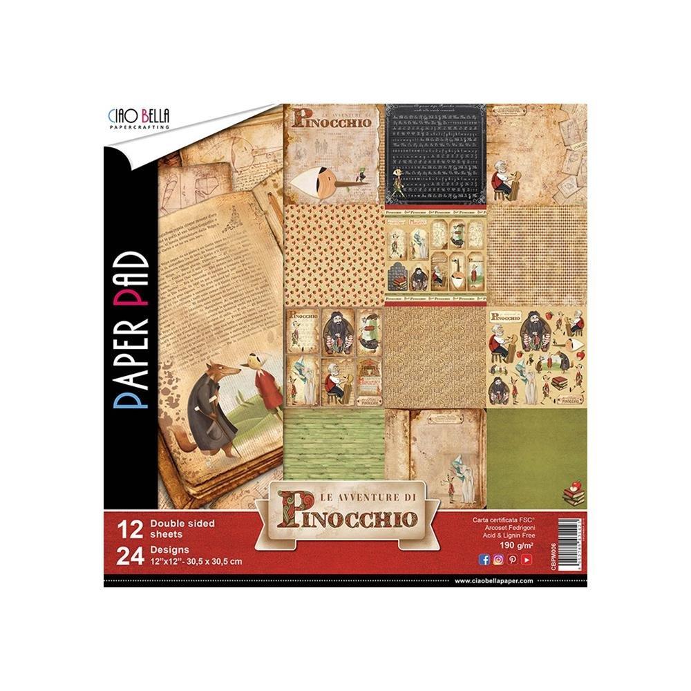 Le Avventure Di Pinocchio Paper Pad