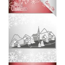 Lovely Christmas Landscape Die