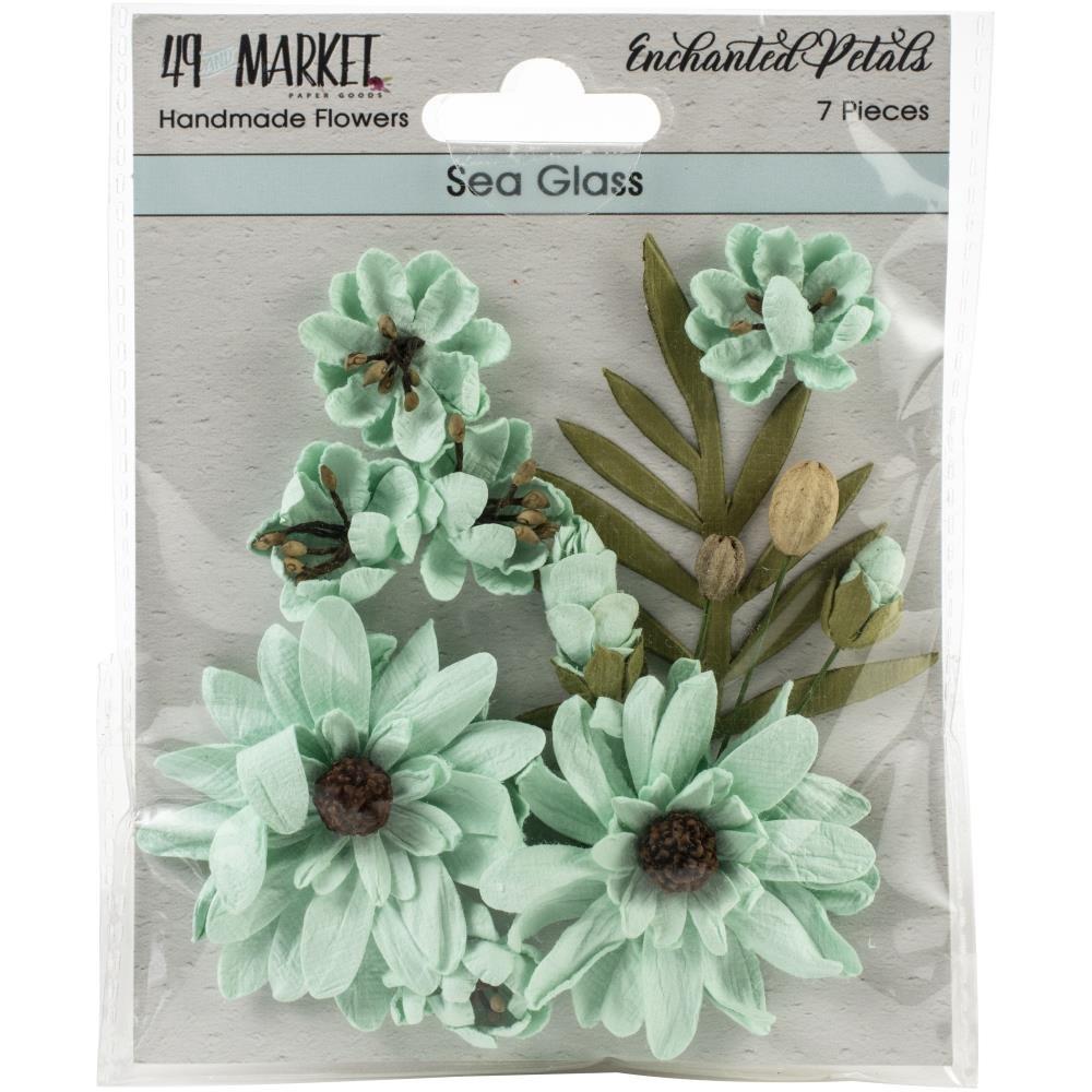 Enchanted Petals Sea Glass Flowers