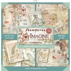 Imagine Paper Pad 12X12
