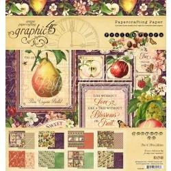 Fruit & Flora Paper Pad 8 X 8