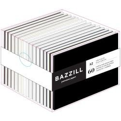 Bazzill Value Pack Cards W/Envelopes 4.25X5.5 60/Pkg Neutrals