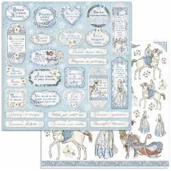 Winter Tales Tag & Frames Paper