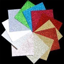 Glitter Paper Pad 6X6 24/Pkg-Holiday