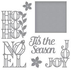 Holiday Word Blocks Die Set