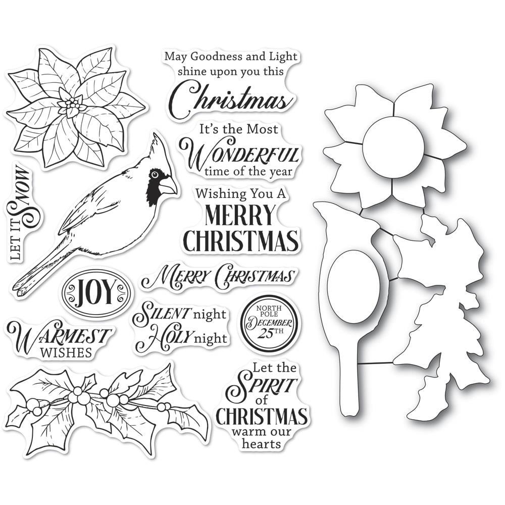 Spirit of Christmas Stamp & Die Set