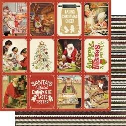 Christmas Greetings #5 Cookies & Baking Paper