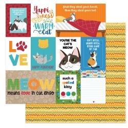 Cat Lover Spoiled Paper