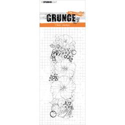 Studio Light Grunge 5.0 Collection Clear Stamp Hibiscus