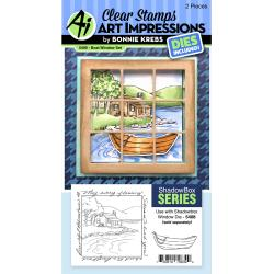 Windows To The World Stamp & Die Set-Boat Window Accessory