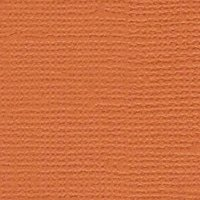 Bazzill Cardstock Cool Cantaloupe Textured 12x12