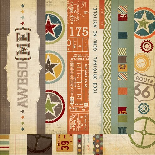 Awesome Border & Title Strip