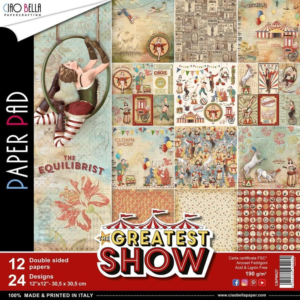Greatest Show Paper Pack 12 X 12