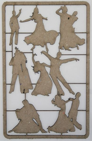 Fancy Dancers Chipboard